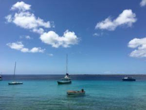 Uitzicht op Klein Bonaire